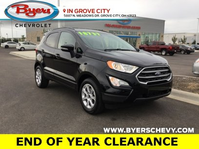 Used 2019 Ford EcoSport FWD SE - 558885344