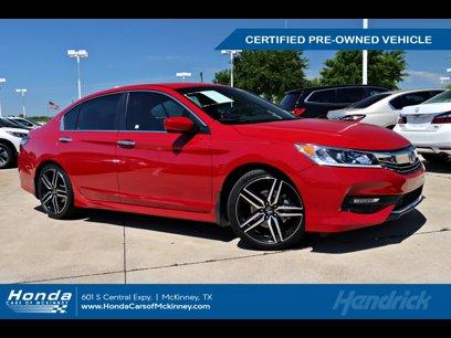 Used 2017 Honda Accord Sport Special Edition Sedan - 569891079