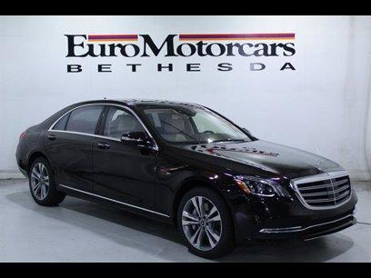 New 2020 Mercedes-Benz S 450 4MATIC Sedan - 529842220