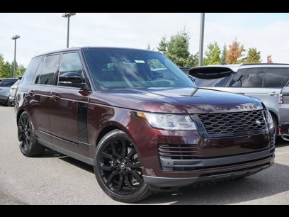 New 2020 Land Rover Range Rover HSE - 529984451