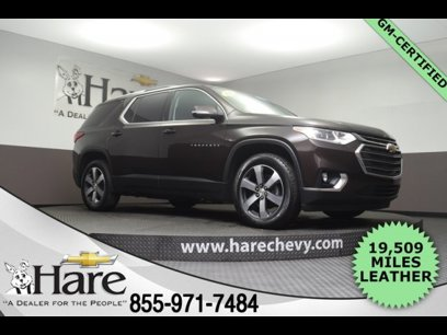 Certified 2018 Chevrolet Traverse FWD LT - 544019633