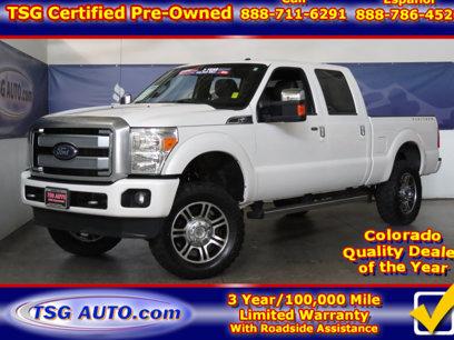 Used 2014 Ford F250 4x4 Crew Cab Platinum - 528073748