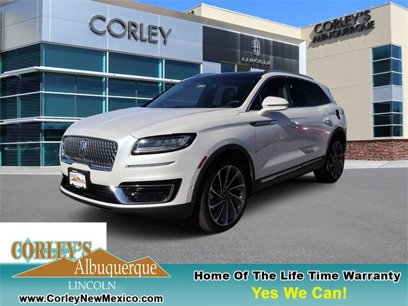 New 2019 Lincoln Nautilus AWD Reserve - 526141108