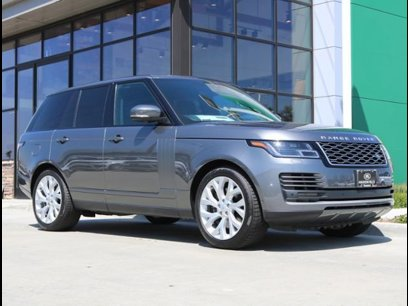 Range Rover Huntington >> 2019 Land Rover Range Rover For Sale In Huntington Beach Ca