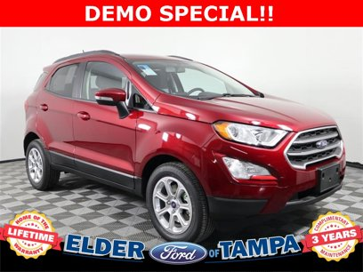 New 2019 Ford EcoSport FWD SE - 532017379
