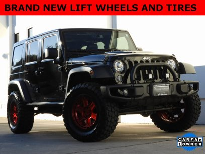 Used 2017 Jeep Wrangler 4WD Unlimited Rubicon - 536212047