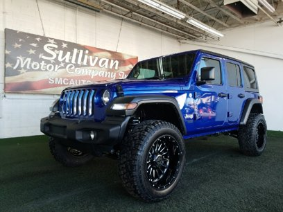 Used 2020 Jeep Wrangler 4WD Unlimited Sport - 524841317