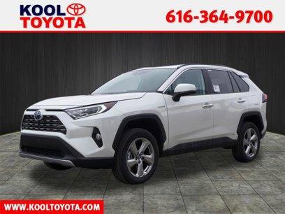New 2020 Toyota RAV4 AWD Limited Hybrid - 542355810
