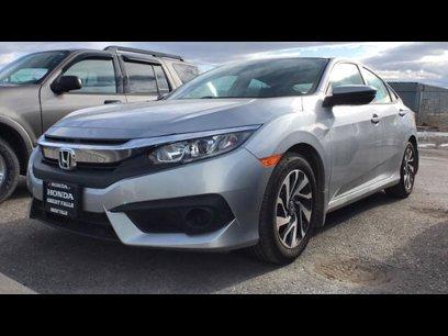 Certified 2018 Honda Civic EX Sedan - 541219568