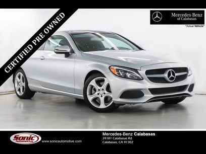 Certified 2017 Mercedes-Benz C 300 Coupe - 563673122