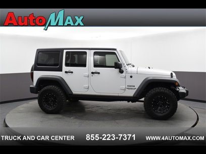 Used 2016 Jeep Wrangler 4WD Unlimited Sport - 543392443