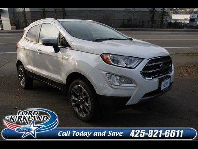 New 2020 Ford EcoSport 4WD Titanium - 539244729