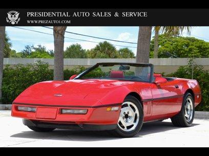 Used 1988 Chevrolet Corvette Convertible - 590959632