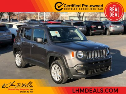 Certified 2018 Jeep Renegade 4WD Latitude - 532947839