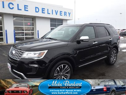 Used 2018 Ford Explorer 4WD Platinum - 532717653
