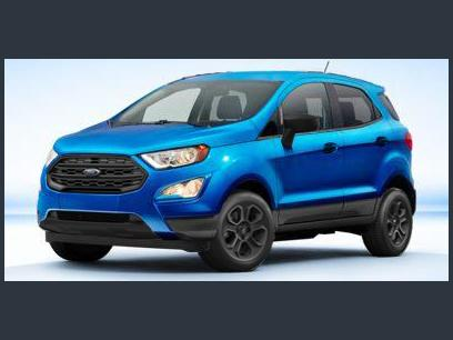 New 2020 Ford EcoSport 4WD SE - 555878179