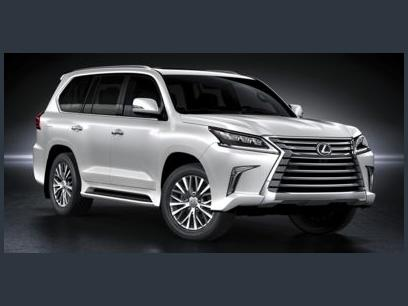 Certified 2021 Lexus LX 570 4WD w/ 3rd Row & Luxury Pkg - 608501025