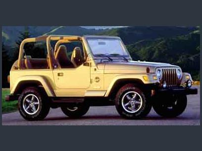 Used 2001 Jeep Wrangler Sahara - 607755652