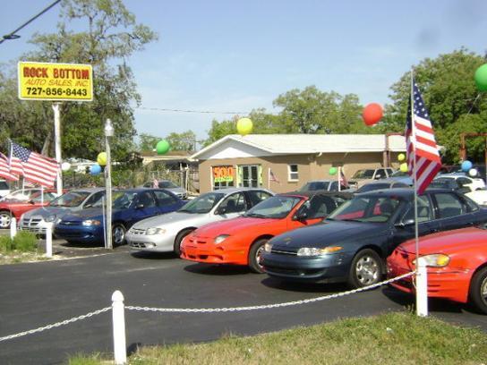 Rock Bottom Auto Sales