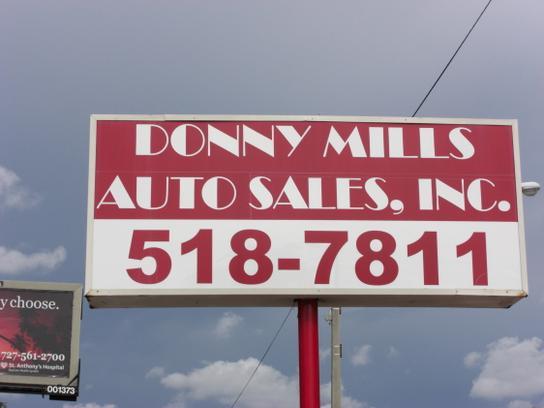 Donny Mills Auto Sales Inc