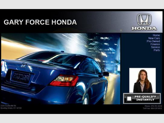 Gary Force Honda Bowling Green Ky 42104 Car Dealership And Auto