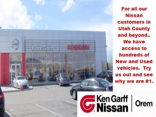 Ken Garff Orem >> Ken Garff Nissan Of Orem Orem Ut 84058 Car Dealership