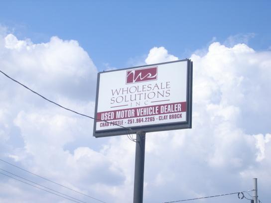 Wholesale Solutions Inc