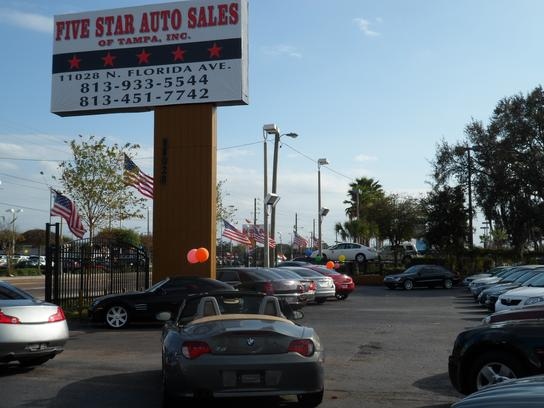 Five Star Auto Sales Of Tampa