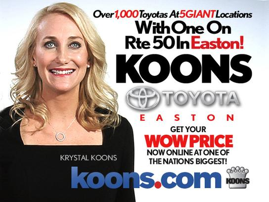 Koons Toyota Easton >> Koons Easton Toyota Easton Md 21601 Car Dealership And Auto