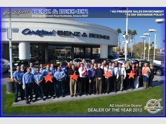 Certified Benz Beemer Phoenix Scottsdale Az 85257 Car