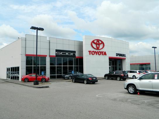 Toyota Dealership Mobile Al >> Springhill Toyota Mobile Al 36606 Car Dealership And