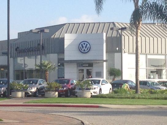 Volkswagen South Coast Santa Ana Ca 92705 Car Dealership And