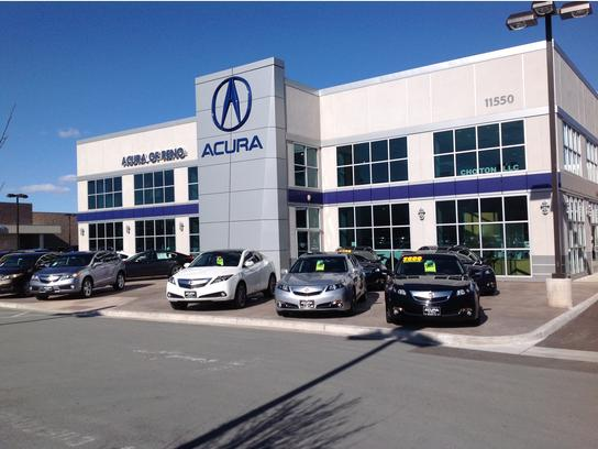 Acura Of Reno >> Acura Of Reno Reno Nv 89511 Car Dealership And Auto Financing