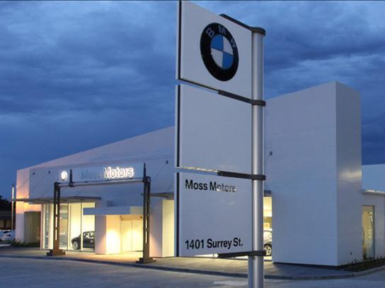 Moss Bmw Lafayette La 70501 Car Dealership And Auto Financing