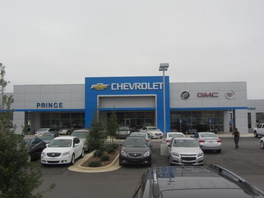 Prince Chevrolet Buick Cadillac Gmc Of Albany Albany Ga 31707 Car