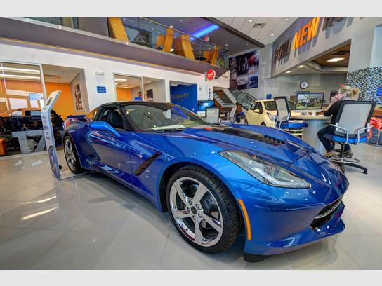 McCluskey Chevrolet Kings Auto Mall
