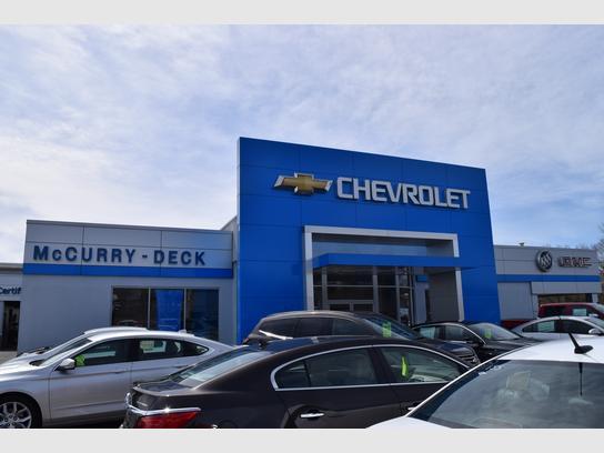 McCurry Deck Chevrolet- Buick - GMC