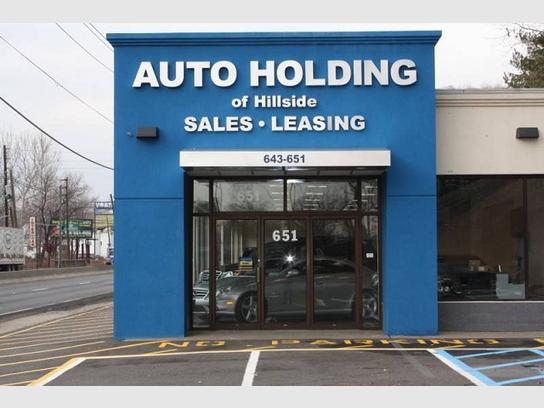 Auto Holding of Hillside
