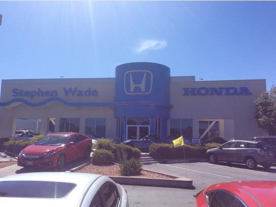 Stephen Wade Honda Mazda