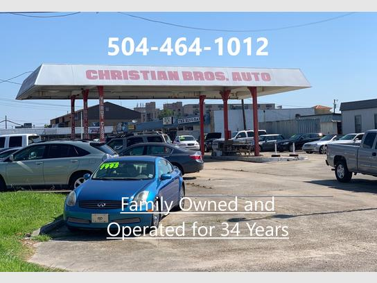 Car Lots In Kenner >> Christian Bros Auto Kenner La 70062 Car Dealership And