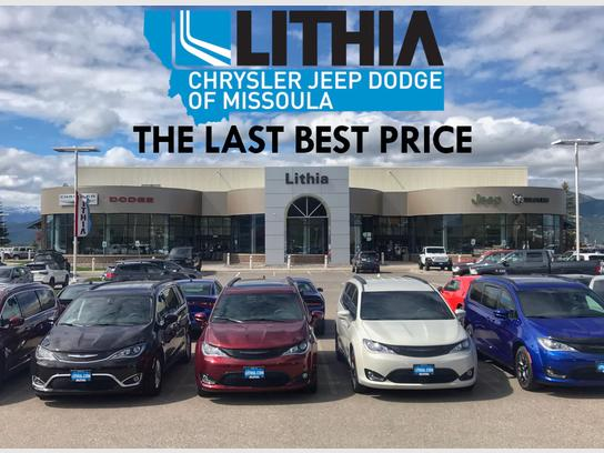 Car Dealerships Missoula Mt >> Lithia Chrysler Jeep Dodge Ram Of Missoula Missoula Mt 59808 Car