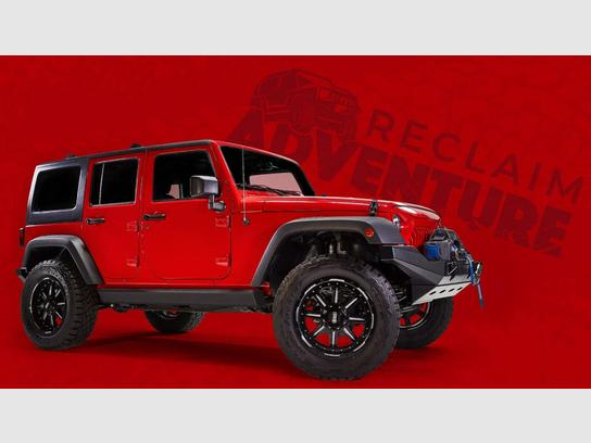 Used 2018 Jeep Wrangler JK 4WD Unlimited Sport