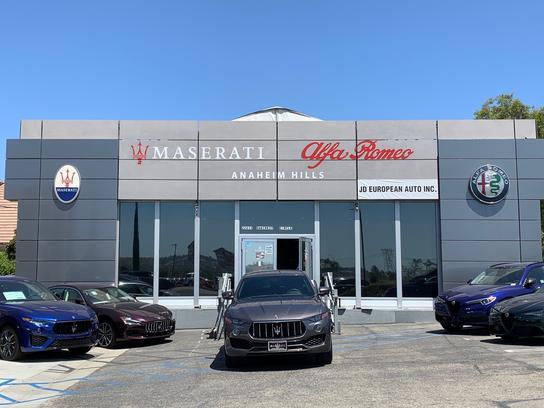 Maserati and Alfa Romeo of Anaheim Hills