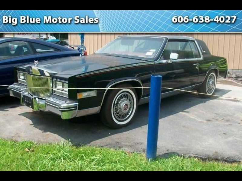 Used 1984 Cadillac Eldorado Coupe For Sale In Louisa Ky 41230