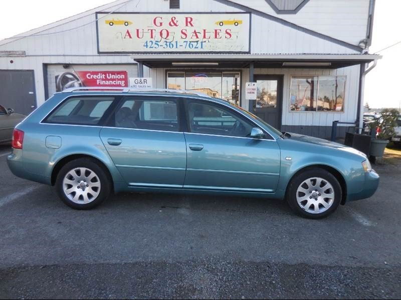 Used Audi A Quattro Avant For Sale In Lynnwood WA - 2000 audi a6