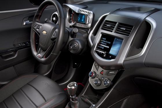 2013 Chevrolet Sonic RS and MyLink: 2012 CES