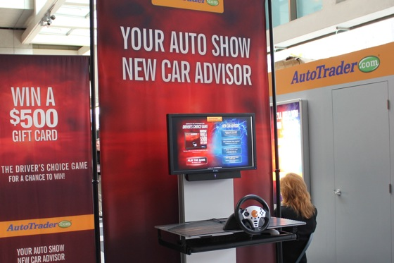 Detroit Auto Show Fun Activities - Win $500 at the AutoTrader Booth featured image large thumb0