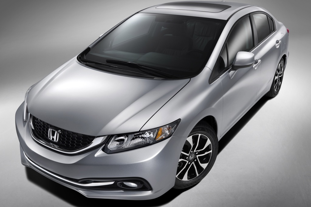 2013 Honda Civic Revealed Before LA Debut