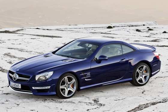 2013 Mercedes-Benz SL65 AMG Preview: New York Auto Show