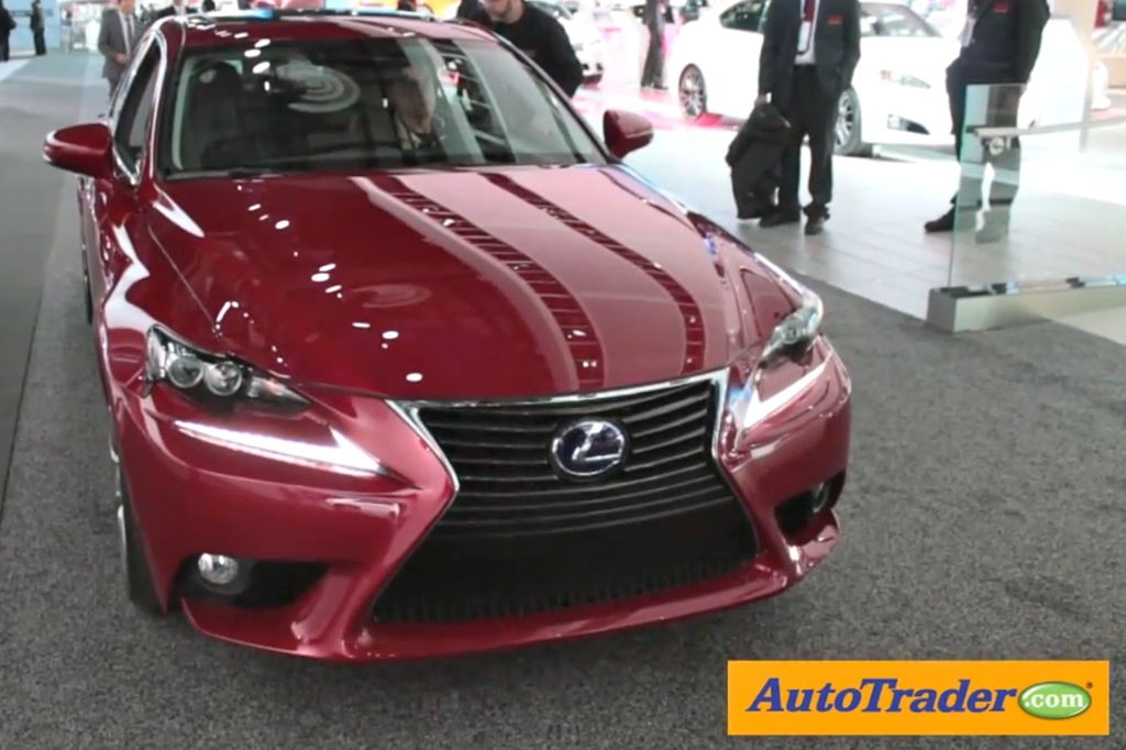 2014 Lexus IS: Detroit Auto Show - Video